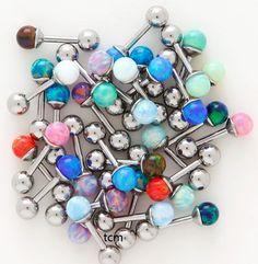 Opal tragus earrings??!! Yes please.