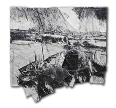 David Tress Landscape Drawings, Abstract Drawings, Watercolor Landscape, Abstract Landscape, Landscape Paintings, Art Drawings, Acrylic Paintings, Landscapes, Black And White Drawing