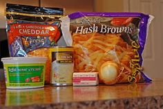 Hashbrown casserole with a crock pot trick. Great idea and one of my favorites!!!!