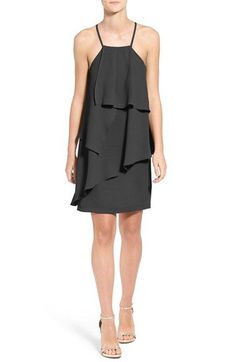 Adelyn Rae Strappy Back Layered Dress
