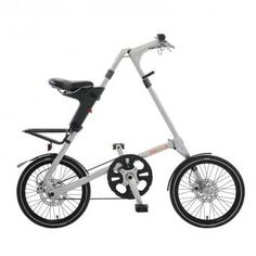 Bicicleta plegable STRIDA Plateado