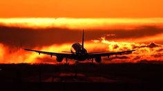 Sunset -Bucharest International Airport  Photo by Eduard Gutescu — National Geographic Your Shot