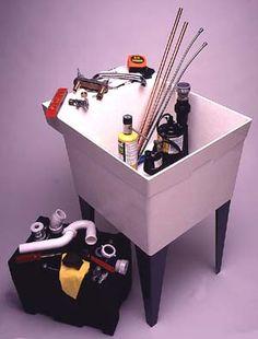 Installing A Basement Laundry Sink - Popular Mechanics