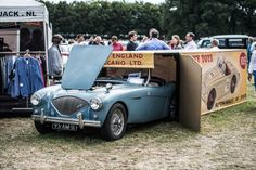 Austin Healey...right out of the box!