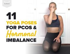 Polycystic Ovarian Syndrome (PCOS) is a hormonal condition that affects up to 10 million women in the world. Yoga Poses for PCOS. Hormon Yoga, Vinyasa Yoga, Yin Yoga, Yoga Flow, Learn Yoga, How To Do Yoga, Yoga Fitness, Yoga For Pcos, Pcos Exercise