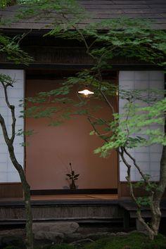日本家屋、縁側、障子