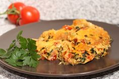 Omletă cu arome indiene Indian Food Recipes, Quiche, Cooking, Breakfast, Baking Center, Morning Coffee, Koken, Indian Recipes, Quiches