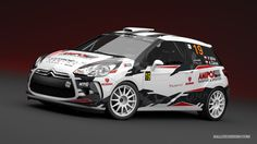 Gekon Racing - P. Mika (Citroen DS3 R3T) - design and wrap for season 2013.