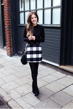 48 Casual Work Outfits For Women with Skirt - Women Fashion . - Business Casual Outfits for Women Stylish Winter Outfits, Casual Work Outfits, Winter Outfits For Work, Business Casual Outfits, Office Outfits, Work Casual, Church Outfit Winter, Chic Outfits, Office Wear