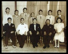 The men and woman of the Philippine Consulate General in Shanghai.Source: The Philippines in Shanghai (PCG Shanghai, 2005).