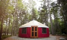 Yurts have been around for centuries, but until recently, if you wanted to sleep in one, you'd have to book a ticket to the Mongolian steppe. Fortunately for you wannabe globe trekkers, yurts are popping up all over Maine.
