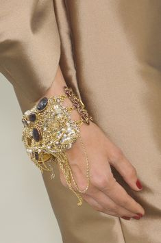 Chanel at Couture Fall 2010 - Details Runway Photos Casterly Rock, Druzy Ring, Vogue, Chanel, Couture, Diamond, Lady, Bracelets, Earrings