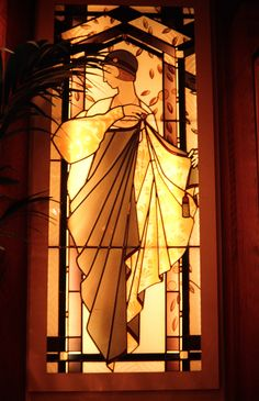 Stained glass window by France Vitrail International in Relais Plaza in Paris