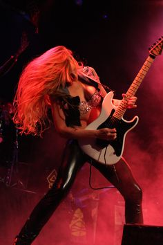 The Iron Maidens Courtney Cox Iron maiden covers in