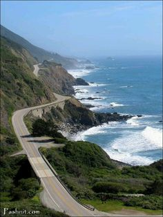 DRIVING ON HIGHWAY 1 WITH A CONVERTIBLE!!!!!! BEAUTIFUL RIDE