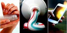 7 usos da pasta de dente que você nem imaginava