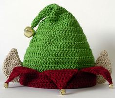 Crochet Spot » Blog Archive » Crochet Pattern: Elf Hat (5 Sizes) - Crochet Patterns, Tutorials and News