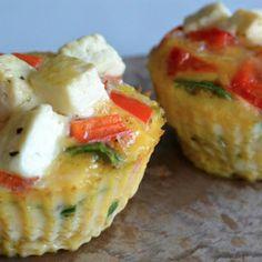 Muffins van ei: een gezond ontbijt! ♥ Foodness - good food, top products, great health