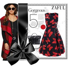 Zaful 16/II by selmica11 on Polyvore featuring moda and vintage