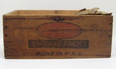 Your place to buy and sell all things handmade Vintage Wood Crates, Tack, Rustic Wood, Toy Chest, Primitive, Advertising, Couture Facile, Primitives, Vintage