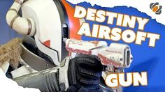 (931) How to Make a Functional Destiny Airsoft Sidearm - YouTube