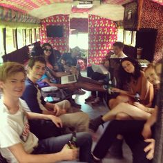 The Maze Runner cast!!!! Lol thomas and newt aka (Dylan and thomas)