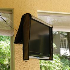Outdoor Waterproof TV Cover Naked Front Flap opens 55 X 33 X 4 by CustomTVWraps on Etsy Outdoor Tv Covers, Custom Wraps, Open Up, Naked, Mirror, Etsy, Design, Patio
