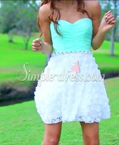 Buy Simple-dress Sweetheart A-line Lace Short 2015 Prom Dresses/Homecoming Dresses/Birthday Party Dresses LAPD-7375 2015 Homecoming Dresses under $142.99 only in SimpleDress.