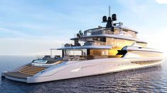 Fincantieri's new Superyacht is called Concept Blanche and it's a Real Show Stopper