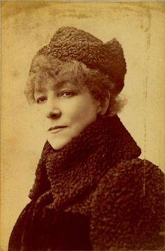 Sarah Bernhardt.