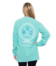 Nautical Rope L/S | Chalky Mint | The Southern Shirt Company