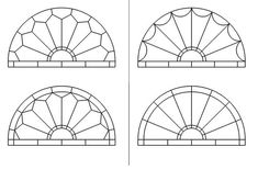 Stained Glass Fan Style Window Patterns | Flickr - Photo Sharing!