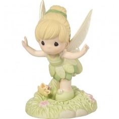 """""""Believe You Can Fly"""" Disney Tinker Bell Figurine, Porcelain"""