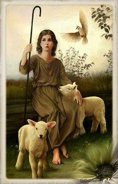 Imágenes religiosas de Galilea: Jesús Buen Pastor