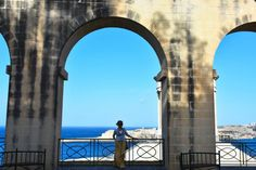 Malta, Valetta, travel, trip, podróż, love, holiday, fashionable, fashion, blue