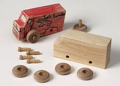 Made By Me Truck: Your child will love assembling and decorating their very own wooden truck! Find more on MontessoriByMom.com