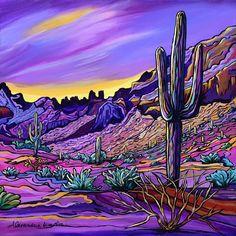 Desert Colors, Desert Art, Cactus Art, Rock Cactus, Cactus Plants, Southwestern Art, Hippie Art, Mexican Art, Elements Of Art