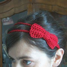 creativeyarn: Headband with Bow