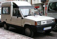 Panda van, Panda van, does whatever a Panda can. // Fiat Panda