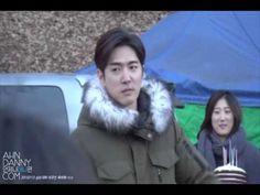 20150107 팬들과의 일산숙소 깜짝 번개팅 - YouTube