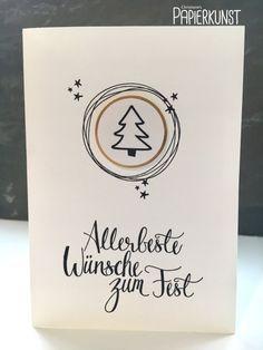 Malerische Weihnachten, Stampin' Up Weihnachtskarte
