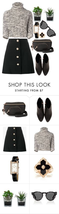 """""""Make A Move"""" by chelsofly ❤ liked on Polyvore featuring Alexander Wang, Miu Miu, Brunello Cucinelli, Hermès, Buccellati, Threshold and Illesteva"""