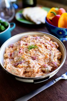 Delicious, decadent Pimento Cheese. I can't control myself around it.