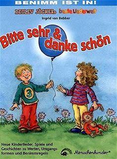 Bitte sehr & danke schön: Kinderlieder, Spiele und Geschichten zu Werten, Umgangsformen und Benimmregeln von Detlev Jöcker http://www.amazon.de/dp/3895161993/ref=cm_sw_r_pi_dp_NEpcxb0MFS13V