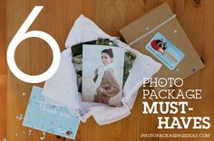 Photo Packaging Ideas: 6 PHOTO PACKAGE MUST HAVES #photopackaging #photographers #packaging