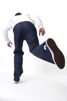 Shoe Pants by Sebastian Errazuriz