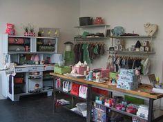 shop interior, display, Les Cousines de Léon