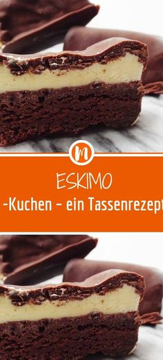 Eskimo cake - a cup recipe - Rezepte - Desserts Oreo Desserts, Lemon Desserts, Peanut Butter Desserts, Fancy Desserts, Chocolate Desserts, Dessert Recipes, No Bake Desserts, Cheesecake Recipes, Dessert Bars