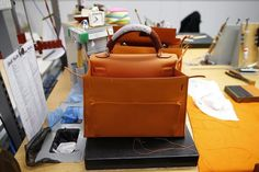 Kelly work in progress, Visit to a Hermes Factory