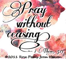 In all things by prayer and supplication let  your requests be made known unto God